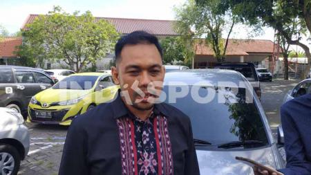 Manajer Persebaya Surabaya, Candra Wahyudi. - INDOSPORT