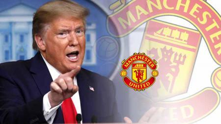 Trump ternyata juga pernah punya sejarah membuat keuangan klub Raksasa Inggris, Manchester United, kocar-kacir. - INDOSPORT
