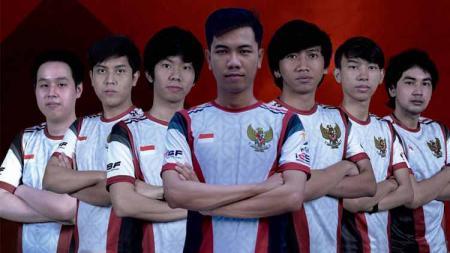 Skuad Timnas Indonesia Esports. - INDOSPORT