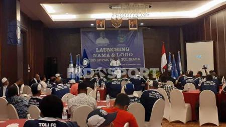 Peluncuran Logo dan Nama Baru, Persitoli Tolikara dan Persipura Putri menjadi Toli FC. - INDOSPORT