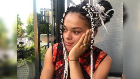 Leonice Huet, pebulutangkis kulit hitam asal Prancis. - INDOSPORT