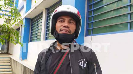 Bek Persib, Ardi Idrus ditemui di Mes Persib, Kota Bandung, Senin (09/11/2020). - INDOSPORT