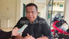 Indosport - Manajer PSMS Medan, Mulyadi Simatupang.