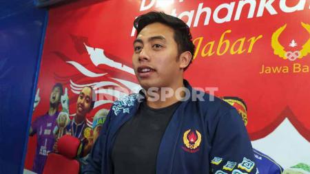 Atlet renang andalan Jawa Barat, Dwiki Raharjo, mengaku persiapannya untuk menghadapi PON XX/2021 di Papua terganggu akibat adanya virus corona. - INDOSPORT