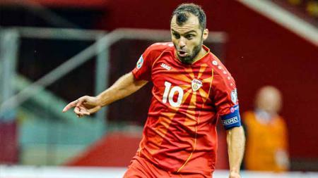 Goran Pandev, pemain Timnas North Macedonia - INDOSPORT