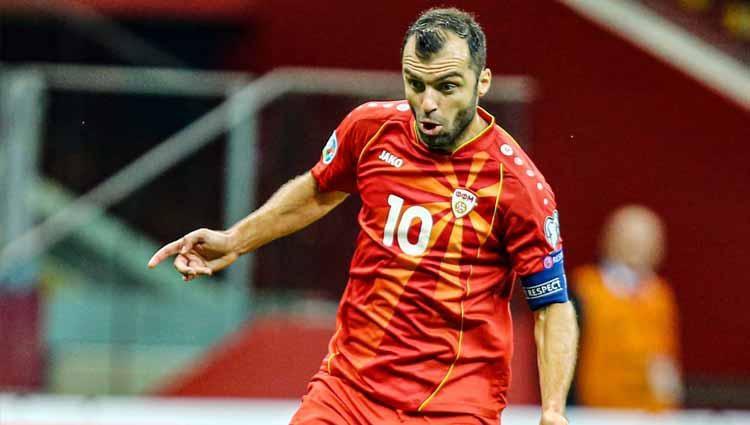 Goran Pandev, pemain Timnas North Macedonia Copyright: Twitter@Sportbuzzer