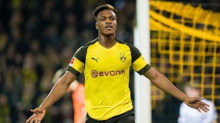 Dan-Axel Zagadou saat memperkuat Borussia Dortmund. - INDOSPORT