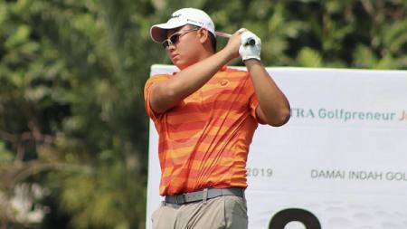 Pegolf muda Indonesia, Kentaro Nanayama, baru saja direkrut klub golf elite Purdue Golf Team, dari Purdue University, Amerika Serikat. - INDOSPORT