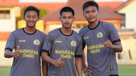 3 pemain Bhayangkara FC U-19 jalani pendidikan kepolisian. - INDOSPORT
