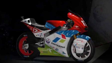 Livery motor Mandalika Racing Team. - INDOSPORT