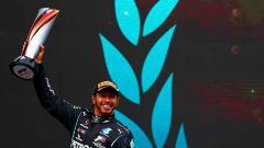 Indosport - Lewis Hamilton, juara F1 2020