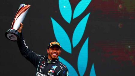 Lewis Hamilton, juara F1 2020 - INDOSPORT