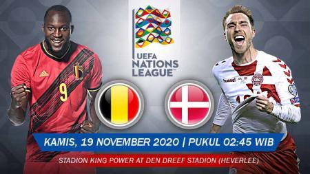Belgia akan segera berhadapan dengan Denmark di matchday terakhir Grup B UEFA Nations League. Anda bisa menyaksikan pertandingan tersebut melalui live streaming. - INDOSPORT