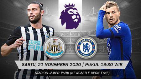 Berikut prediksi pertandingan Liga Inggris antara Newcastle United vs Chelsea. - INDOSPORT