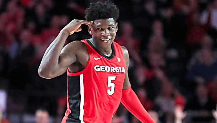 Anthony Edwards, pebasket Georgia Bulldogs Copyright: Carmen Mandato/Getty Images