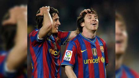 Bojan Krkic pernah disebut-sebut titisan Lionel Messi. - INDOSPORT
