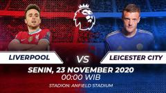 Indosport - Berikut link live streaming pertandingan Liverpool vs Leicester City.
