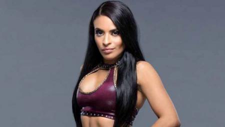 Zelina Vega, pegulat WWE. - INDOSPORT