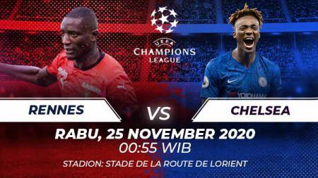 Berikut prediksi pertandingan keempat grup E Liga Champions 2020/21 antara Rennes vs Chelsea. - INDOSPORT