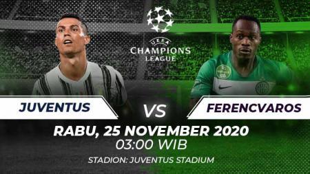 Juventus vs Ferencvaros. - INDOSPORT