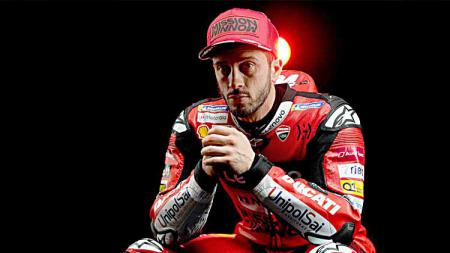 Pembalap Ducati Team, Andrea Dovizioso. - INDOSPORT