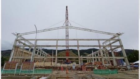 Bangunan Venue Sepatu Roda PON XX Papua - INDOSPORT