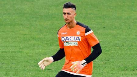Juan Musso, kiper Udinese. - INDOSPORT