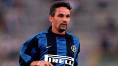 Indosport - Roberto Baggio menjadi pahlawan di laga Inter Milan vs Real Madrid 22 tahun lalu.