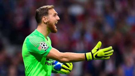 Jan Oblak, kiper Atletico Madrid. - INDOSPORT