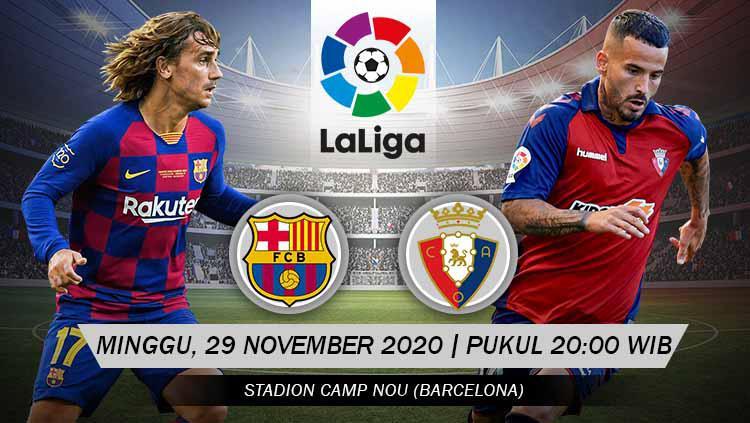 Prediksi LaLiga Spanyol Barcelona vs Osasuna: Persaingan Ketat