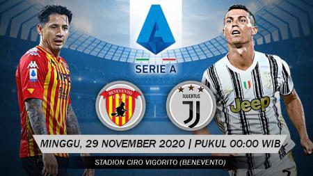 Berikut prediksi pertandingan Serie A Liga Italia antara Benevento vs Juventus. - INDOSPORT