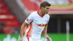 Indosport - Alexander Sorloth, pemain Leipzig.