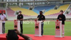 Indosport - Bhayangkara Solo FC resmi berhome base alias berkandang di Stadion Manahan.