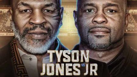 Mike Tyson vs Roy Jones Jr. - INDOSPORT