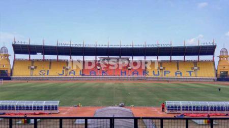 Stadion Si Jalak Harupat, Kabupaten Bandung, menjadi salah satu calon venue Piala Menpora 2021. - INDOSPORT