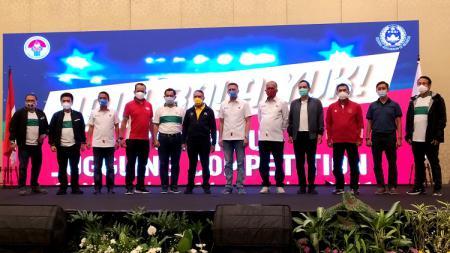 Kemenpora RI bersama PSSI menggelar kegiatan Sosialisasi Youth Fun Juggling Competition 2020 dari The Trans Luxury Hotel, Kota Bandung, Sabtu (28/11/20). - INDOSPORT