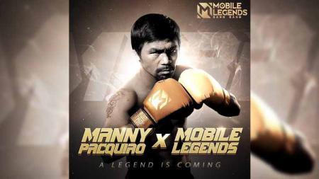 Game eSports Mobile Legends akhirnya resmi merilis legenda tinju Filipina, Manny Pacquiao, sebagai skin untuk hero bernama Paquito. - INDOSPORT