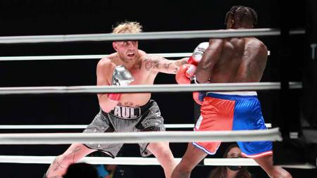 Jake Paul vs Nate Robinson. - INDOSPORT