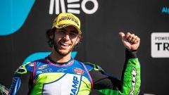 Indosport - Pembalap Moto2 asal Italia, Enea Bastianini.