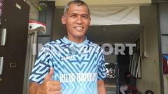 Indosport - Mantan kiper Persib, Dadang Sudrajat.