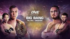 Indosport - Roman Kryklia vs Murat Aygun di ONE: Big Bang.