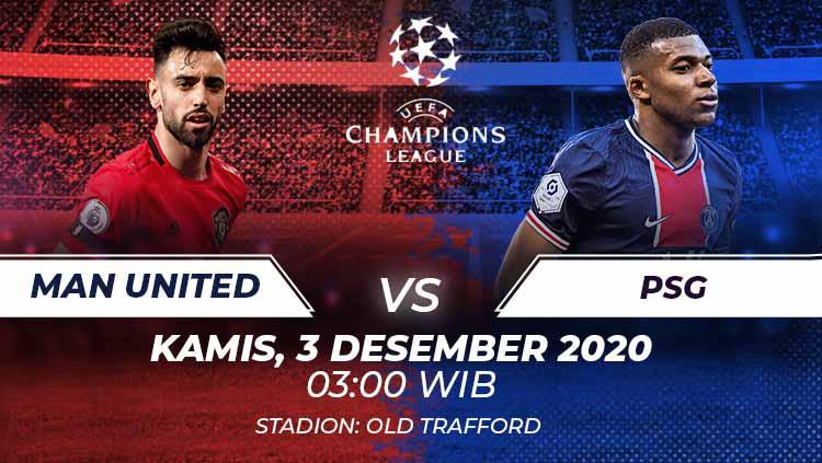 Prediksi Pertandingan Liga Champions Man United Vs Psg Indosport