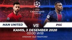 Indosport - Berikut prediksi pertandingan kelima grup H Liga Champions 2020/21 antara Manchester United vs Paris Saint-Germain, Kamis (3/12/20) dini hari WIB.