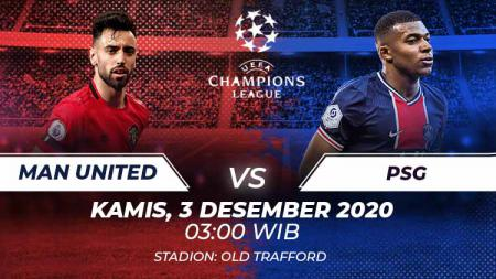 Link Live Streaming Manchester United vs PSG. - INDOSPORT