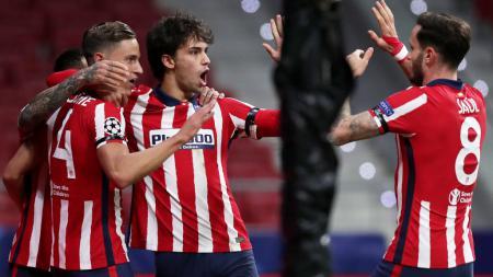 Atletico Madrid berpeluang juara LaLiga Spanyol musim ini. - INDOSPORT