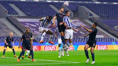 Momen pertandingan Porto vs Manchester City di Liga Champions - INDOSPORT