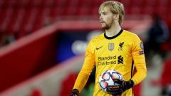 Indosport - Caoimhin Kelleher di laga Liverpool vs Ajax Amsterdam
