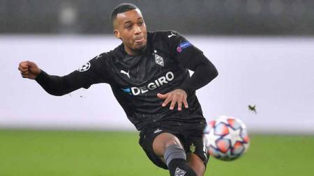 Alassane Plea, pemain Borussia Monchengladbach. - INDOSPORT