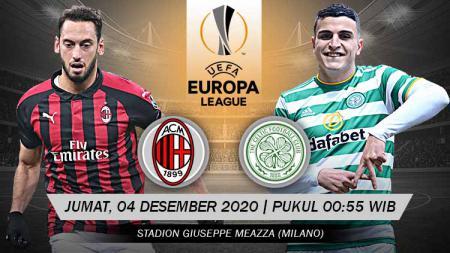Laga kelima Grup H Liga Europa akan mempertemukan antara AC Milan vs Celtic di San Siro, Jumat (04/12/20) dini hari WIB, berikut duel perlini kedua tim. - INDOSPORT