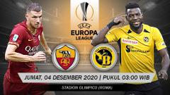 Indosport - Prediksi Liga Europa AS Roma vs Young Boys: Amankan Posisi Puncak.